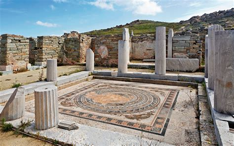 Which Culture Became Known For Building Marble Temples - delos the abode of the gods greece is