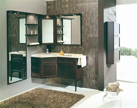 mobile angolare bagno mobile bagno angolare rovere moro modello forgiarini