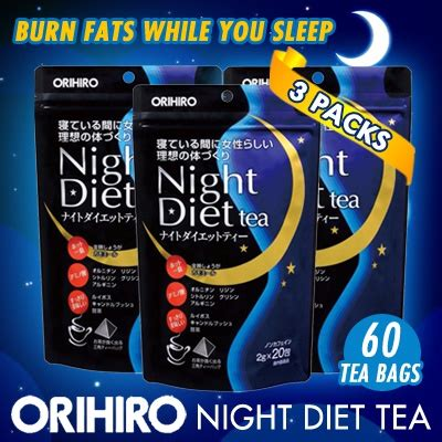 Orihiro Diet Tea Sleep Magic Weight Loss qoo10 diet tea diet wellness