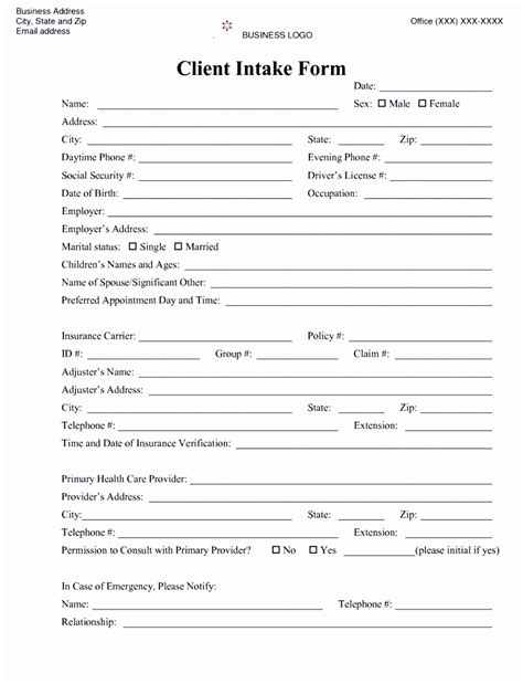psychotherapy intake form template 6 counselling referral form template uyefi templatesz234