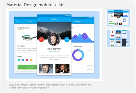 material design company profile 50 incredible freebies for web designers may 2015