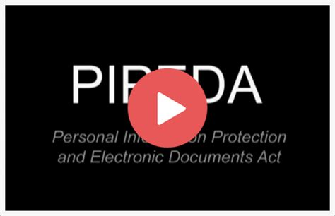 Privacy Pipeda Training Pipeda Privacy Policy Template
