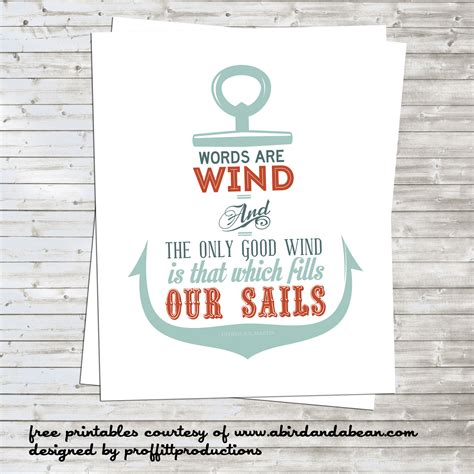 printable nautical quotes free printable nautical anchor with game of thrones quote