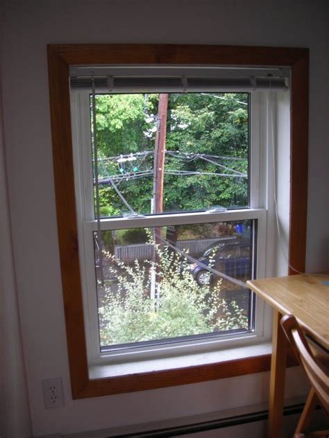 1000 images about no trim around window on rustic wood wood stain and search