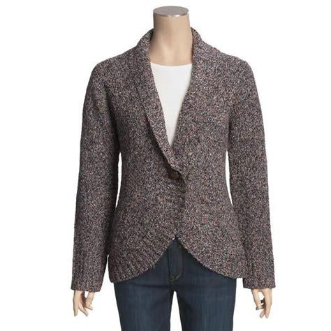 Ruffle Shawl Collar Wrap Shirt s cardigan sweater shawl collar cardigan with buttons