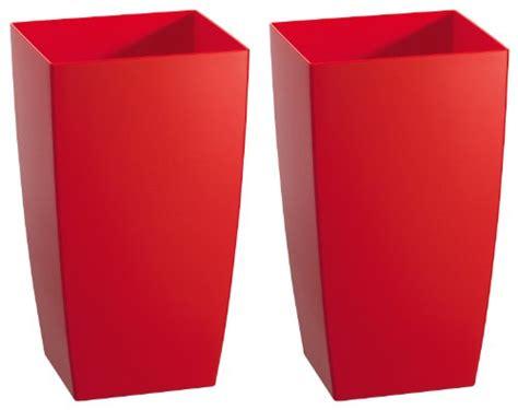 pflanzgefäße innen pflanzgef 228 223 e au 223 en rot bestseller shop