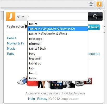 'find it on junglee' chrome extension easy way to