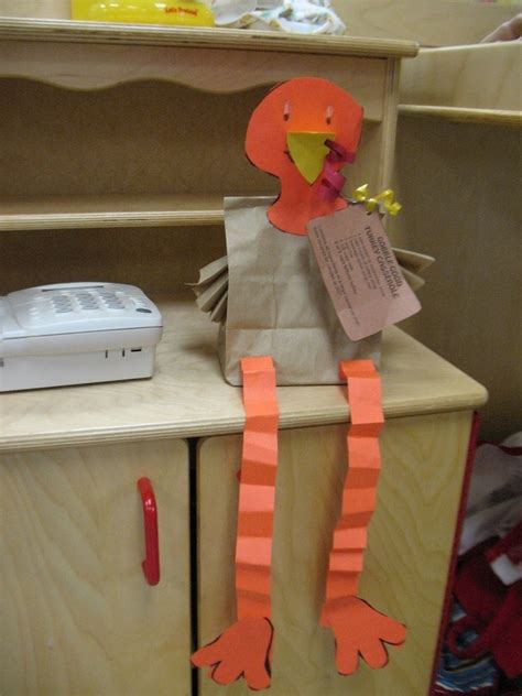 paper bag turkey craft turkey craft school ideas sept oct nov children
