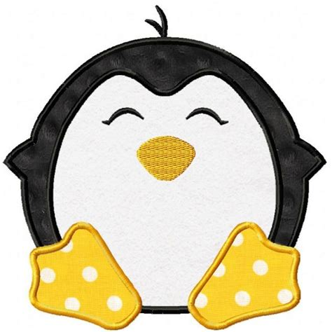 penguin applique penguin applique design appliques quilting sewing