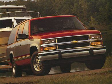 1994 chevrolet suburban 1500 specs safety rating mpg carsdirect