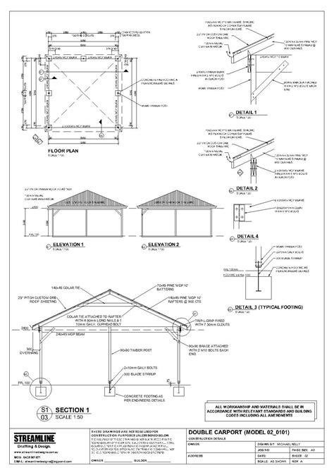 plans  build carport plans   plans