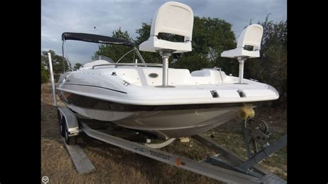 deck boat for sale houston texas sold used 2010 hurricane 201 sundeck sport in bulverde