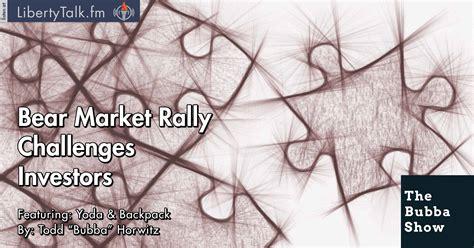investors challenge market rally challenges investors