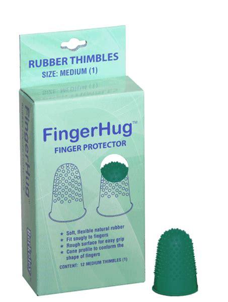 nature rubber sts fingerhug finger protector rubber thimbles 4 colors medium