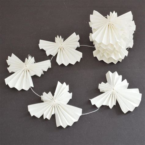 white paper christmas decorstions beautiful simple scandinavian inspired decorations oates co