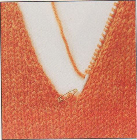 how to knit v neck knitting a v neck easy for how to knit a v