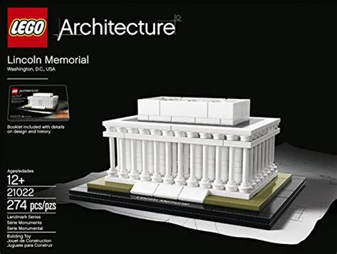 The Lego Architect Ebooke Book lego architecture 21022 lincoln memorial model kit import it all