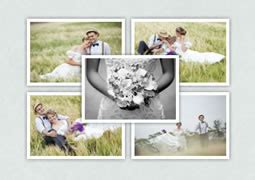photo collage greeting card template photo collage sles greeting card sles scrapbook