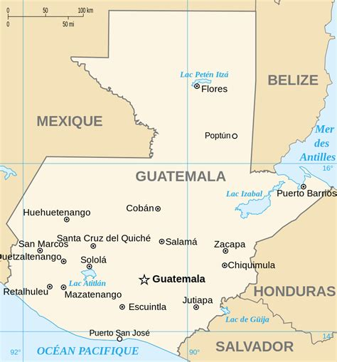 where is guatemala on the map file guatemala map fr svg wikimedia commons