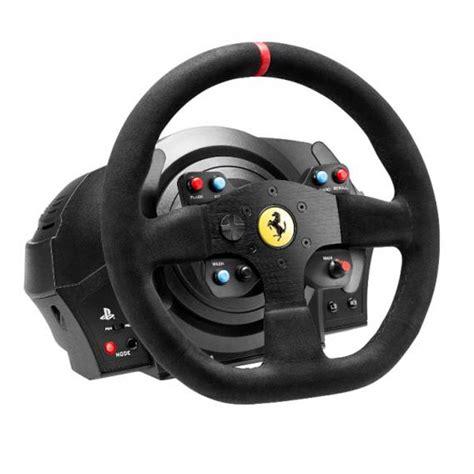 thrustmaster volante thrustmaster t300 alcantara edition volant pc