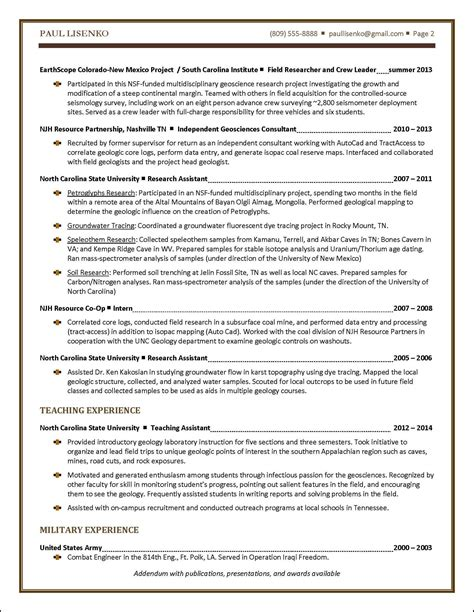 student resume sle distinctive documents