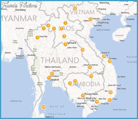 asia sea map southeast asia travel route map travelsfinders
