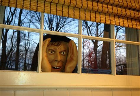 scary peeping tom window prop awesome stuff 365
