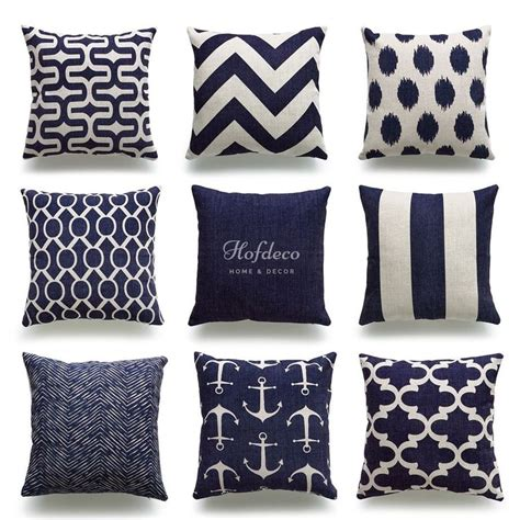 Nautical Pillow Covers by 1000 Ideas About Nautical Cushion Covers On