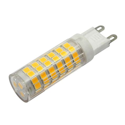 led g9 mengsled mengs 174 g9 7w led light 75x 2835 smd leds led