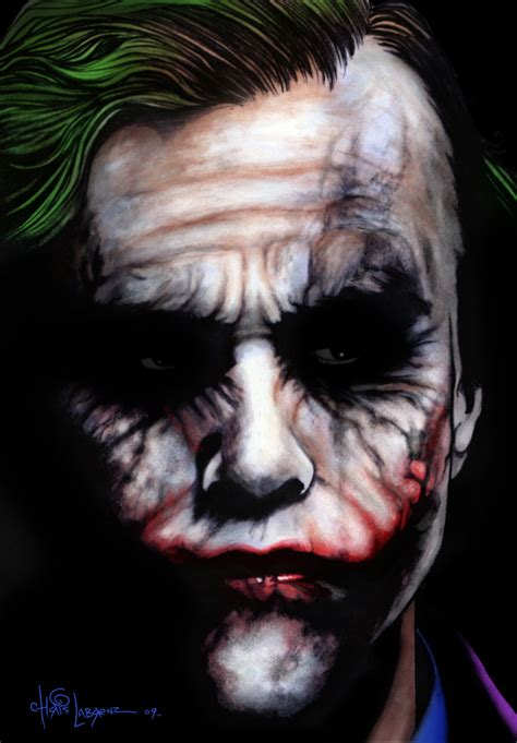 joker painting asylum jokers basked in gotham lights