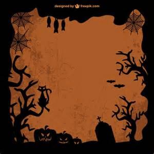 free template vector art of halloween vector free download