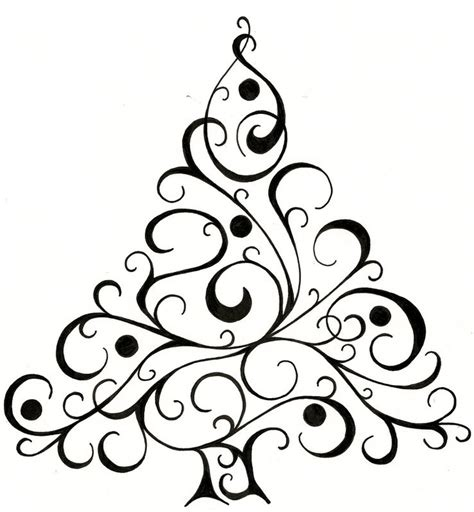 christmas tree design for cards christmas tree