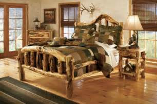 Cabela S Bed by Cabela S Gnarly Aspen Log Bed