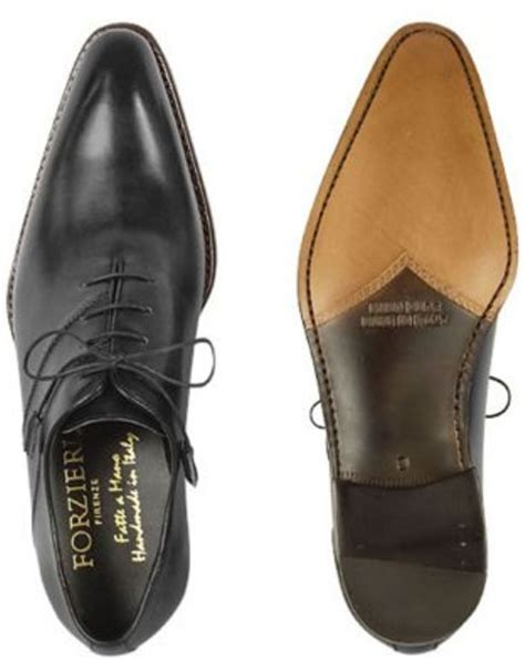 Handcrafted Italian Shoes - forzieri black italian handcrafted leather oxford dress