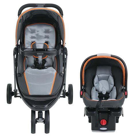 graco pram with car seat graco modes sport click connect stroller and car seat