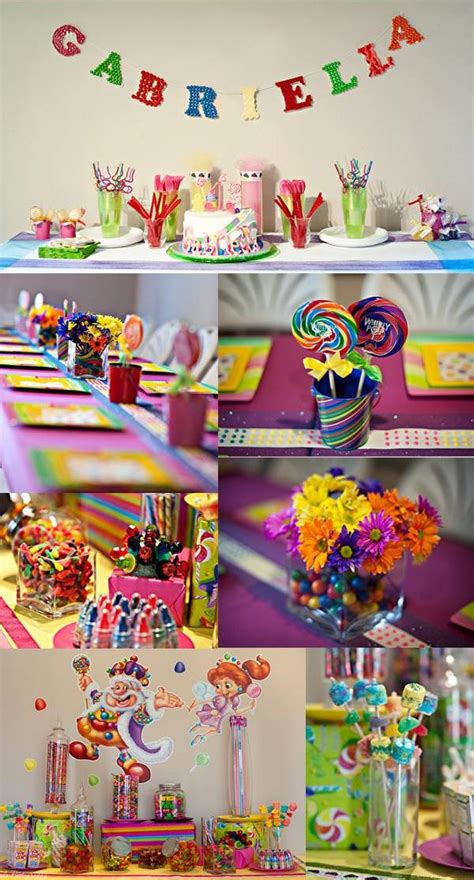 themes lollipop candyland birthday party theme sweet city candy blog
