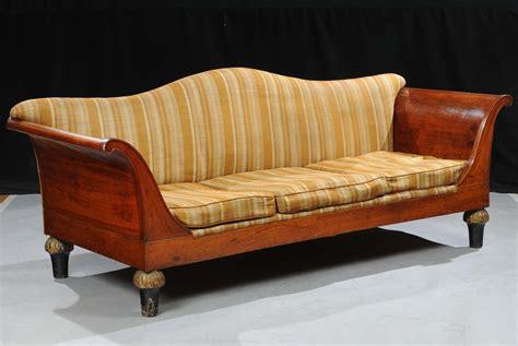divano dormeuse divano dormeuse in noce lucca primo quarto xix secolo