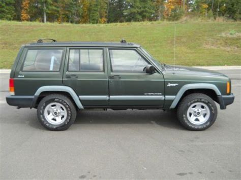 old car manuals online 1999 jeep cherokee transmission control sell used 1998 jeep cherokee classic sport utility 4 door 4 0l 5 speed manual in manassas