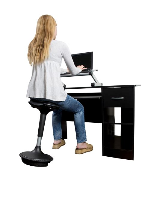 tall desk chair amazon uncaged ergonomics wobble stool adjustable chair black