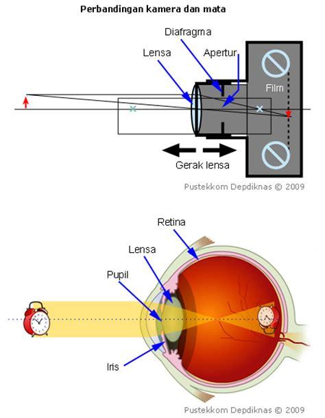 Kamera Lensa Cembung alat optik fisika kelas x