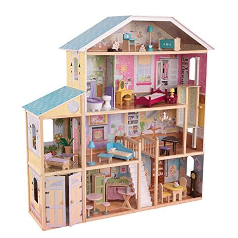 Kidkraft Majestic Mansion Dollhouse With Furniture by Kidkraft Majestic Mansion Dollhouse B0042f99pg