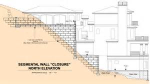steep slope house plans utilizing geofoam in foundation design for steep sloped lots insulfoam