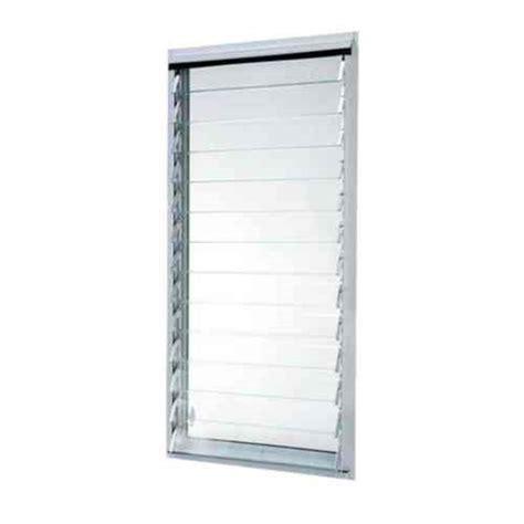jalousie aluminium tafco windows 23 in x 47 875 in jalousie utility louver