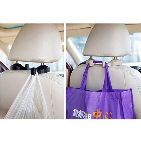 Car Seat Headrest Hook For Hanging Bag Gantungan Mobil Car Seat Headrest Hook For Hanging Bag Gantungan Mobil Black Green Jakartanotebook