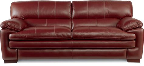 pillow arm leather sofa la z boy casual stationary sofa with pillow top
