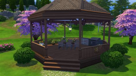 how to build a gazebo tutorial how to build a gazebo in the sims 4 simsvip