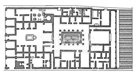 layout of pompeii house roman house plan escortsea