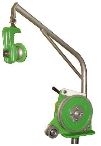 hydraulic pots hauler 0250 with davit arm