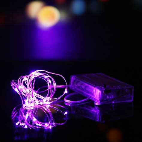 2m 3m 10m Battery Powered Led Starry Fairy String Lights Starry String Lights Battery Operated