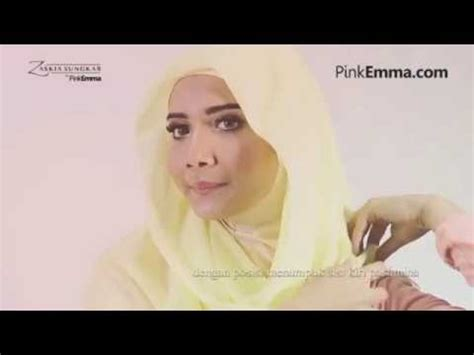 tutorial pashmina zaskia intip gaya hijab siti juwariyah beauty and style beauty
